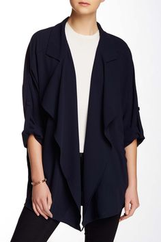 Draped Front Oversize Jacket by ASTR on @nordstrom_rack