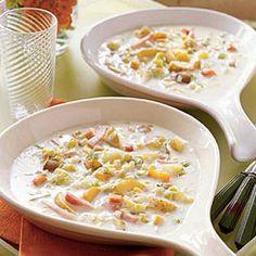 Roast Vegetable Chowder - Good Housekeeping