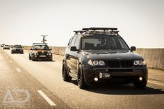 Cruising with the BMWs by Automotive Digression