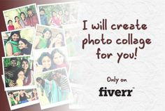 ratheeshr: create  a photo COLLAGE in 24h for $5, on fiverr.com