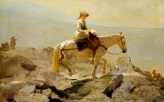 The Bridal Path, White Mountains - Winslow Homer - Completion Date: 1868