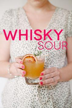 Whisky Sour Batch Recipe | A Practical Wedding