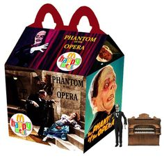 """""""The Phantom Of The Opera"""" Happy Meal by Newt Clements"""