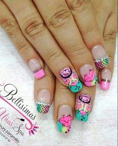 Nail Designs, Nail Art, Nails, Beauty, Pretty Nails, Work Nails, Pretty Toe Nails, Short Nail Manicure, Nail Manicure