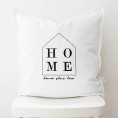 home lettering cushion,lettering pillow,word cushion,new home gift,typography cushion,monochrome cushion pillowcase,typography pillowcase Typography Cushions, New Home Gifts, Monochrome, Bed Pillows, Pillow Cases, New Homes, Lettering, Trending Outfits, Words