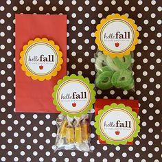 DIY Fall Party Printables
