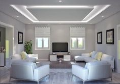 30 Unusual Ceiling Designs Ideas For Living Rooms. Awesome 30 Unusual Ceiling Designs Ideas For Living Rooms. If your ceilings are low, it can make a room look smaller and more closed in. Living Design, Home Room Design, Living Room Design Modern, Ceiling Design Modern, Ceiling Design Living Room, Celling Design, Ceiling Light Design, Bedroom False Ceiling Design, Ceiling Design Bedroom