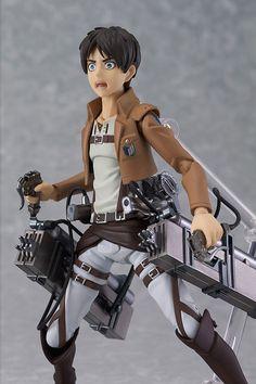 Attack on Titan Figma Figur Eren Yeager 15 cm  Attack on Titan - Hadesflamme - Merchandise - Onlineshop für alles was das (Fan) Herz begehrt!