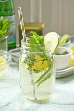 The only Summer Mojito recipe you will ever need! #recipe #drink