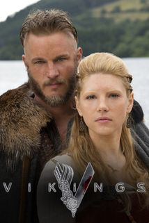 """History Channel  """"Vikings"""", he is beautiful, his wife too, and she is a total badass!"""