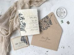Looking for vintage antique wedding invitations that are still for this century? We used stained handmade paper and kraft paper to create this amazing suite Handmade Wedding Invitations, Unique Invitations, Invitation Paper, Bridal Shower Invitations, Wedding Stationery, Old World Wedding, Wedding Book, Wedding Paper, Wedding Vintage