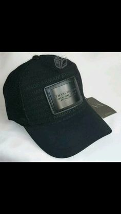 Armani Exchange Cap Men One Size New With Tags For Men Like You  ARMANI 39f693b09e48