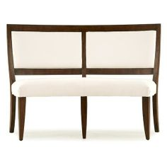 Dining Benches With Backs Upholstered For Round Table | Casana Sherbrook  Upholstered Curved Dining Bench