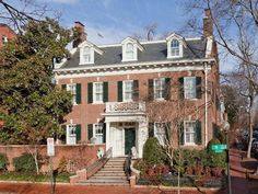 Classic Georgian home in the Heart of Georgetown. Only $6.5 million.