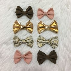 🎉HOST PICK! Girly Clip - In bows! • Girly clip in bows!                                                                                                                                                 • 4 for $6, 6 for $8, 8 for $10, 10 for 12, etc.!                               • Get 2 FREE clip in bows with the purchase of 2+ headbands!                                                                             • Special orders may be additional $2 per bow…
