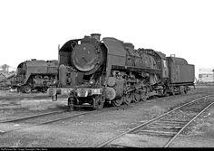RailPictures.Net Photo: 141 R SNCF Steam 2-8-2 at Sarreguemines, France by J Neu, Berlin