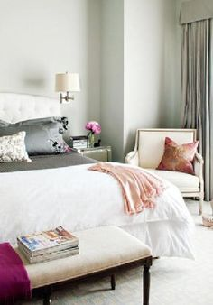 French Decor to Adore bedroom Pretty Bedroom, Dream Bedroom, Home Bedroom, Bedroom Decor, Master Bedrooms, Bedroom Colors, Master Suite, Fancy Bedroom, Bedroom Ideas