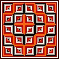 Optical illusion - how cool is this!.                                                                                                                                                      Mehr                                                                                                                                                      Mehr