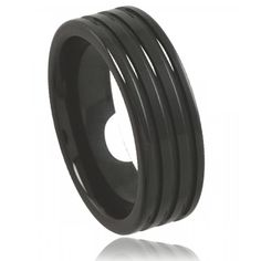 Ceramic Black Angel Ring - Murat Paris