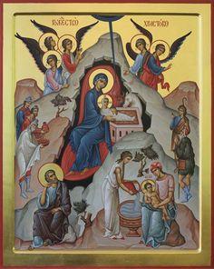 Byzantine Art, Byzantine Icons, Noli Me Tangere, Christian Wall Art, Icon Collection, Religious Icons, Art Icon, Orthodox Icons, Christianity