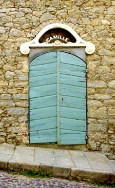 aDOORation | we never tire of odd, creaky-looking doors from antiquity...especially when they're located somewhere in france...ooo-la-la! | Bayer Built Woodworks, Inc.