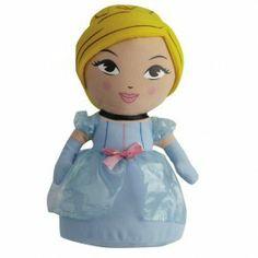 Go Glow knuffel Disney Princess. Een leuke prinses die licht geeft.