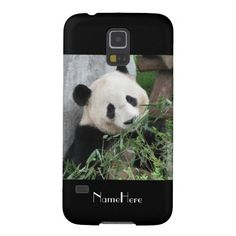 "50% OFF thru 12/6/14, Enter Code: CASEDEAL4DEC . . . Samsung Galaxy S5 Case Giant Panda Black - This case for the Samsung Galaxy S5 is part of our ""Giant Pandas"" collection. What a wonderful complement for your new phone. Wonderful gift for panda lovers. This Samsung Galaxy S5 case has a black background. Original photograph by Marcia Socolik, taken in Chengdu, China. All Rights Reserved © 2014 Alan & Marcia Socolik. #GalaxyS5 #Pandas #Giantpandas"