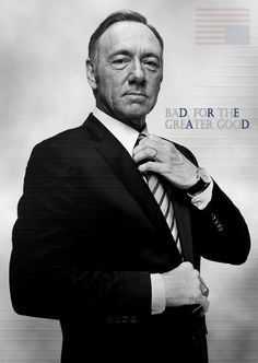 'House of cards' - Netflix. One of my favorite shows. Spacey is, as always, awesome as the amoral Senator Frank Underwood. Viv