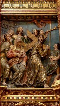 El retablo mayor del monasterio jerónimo de la Mejorada de Olmedo (Valladolid). Alonso de Berruguete