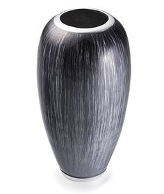 Fairtrade Recycled Aluminium High Gloss Vase Grey £32.00