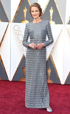 Charlotte Rampling shows her timeless class is beyond chic in Armani. Oscars 2016: