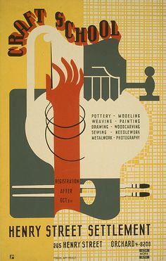 The silkscreen posters of the WPA