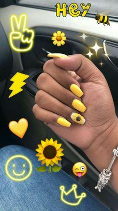 Short Nail Designs: Nail Art Designs for Short Nails to Try Mauve Nails, Aycrlic Nails, Yellow Nails, Prom Nails, Glitter Nails, Pink Nail, Pretty Nail Designs, Short Nail Designs, Simple Nail Designs