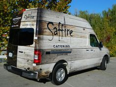 Catering van wrap for Saffire and The Southern restaurants