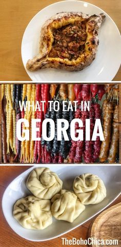 Georgian Cuisine: Don't miss the food in Georgia, the country in the Caucasus.