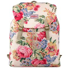 Bloomsbury Bouquet Cotton Rucksack with Pockets | View All | CathKidston
