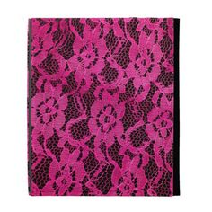 Hot Pink/Black Lace-Look iPad Folio Case so please read the important details before your purchasing anyway here is the best buyReview          	Hot Pink/Black Lace-Look iPad Folio Case please follow the link to see fully reviews...