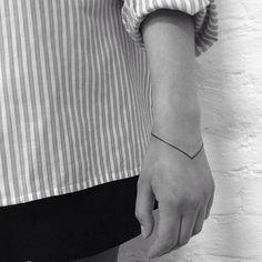 line tattoo | Tumblr