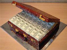 el pastel del tesoro