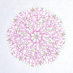 Construire et dessiner ses propres Mandalas // Draw your own mandalas @ Le Petit Manuel