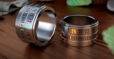 Ring Clock Is A Beautiful Marriage Of The Ring And The Watch