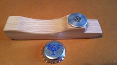 oak, bottle opener