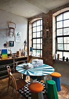 estudio_artista_lugar_de_trabajo -★-workspace