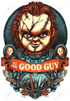 Chucky Halloween, Halloween Horror, Horror Villains, Halloween Prints, Halloween Cups, Halloween Drawings, Weird Shapes, Scary Movies, Horror Art