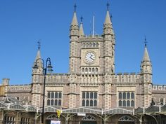 Bristol's Temple Meads Station, designed by Isambard Kingdom Brunel Isambard Kingdom Brunel, Pictures Of England, Victorian Buildings, Travel Uk, Victorian Design, Great Western, Industrial Revolution, Mosques, Portsmouth