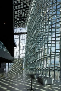 Harpa concert hall and conference center - Reykjavík, Iceland
