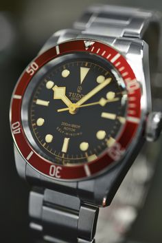 Tailor your time with a @TudorWatch from #Chronostore | Featured: #Tudor #Heritage #BlackBay #Automatic #Mens #Watch (Model#: 79220R) | #watchesofinstagram #watchoftheday #bestoftheday #red #adventure #watchpic #luxury #rolex #passion #photography #nikonlens #nikon #wristporn #fashion #watchgram #instawatch #watchaddict #watchcollector #Chronostore #CAlexanderT #time #style