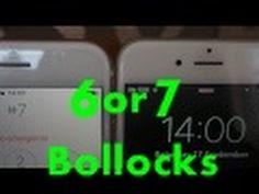 iPhone 7 or 6 True review Un boxing - NO BOLLOCKS !  TRUE FACTS ! LISTEN !!