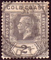Gold Coast Ghana 1921 SG 89 King George V Fine Used SG 89 Scott 86 Other African stamps here