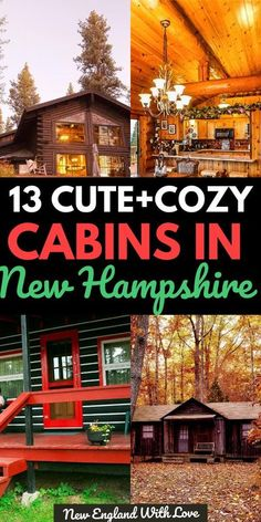 England Winter, New England Fall, New England Travel, Romantic Cabin Getaway, Getaway Cabins, States In America, North America, United States